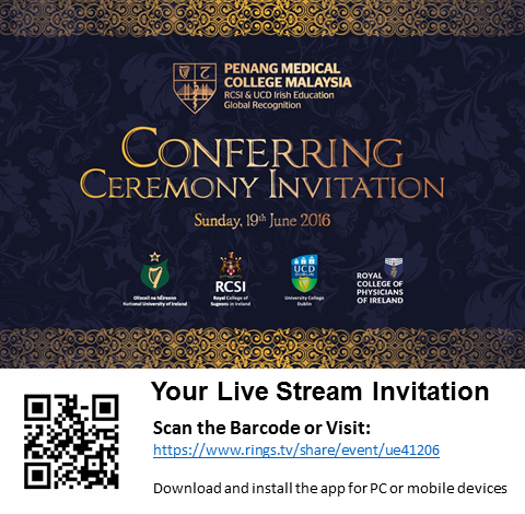 Conferring Invitation
